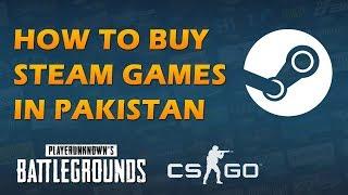 How to Buy Steam Games / PC Games in Pakistan | Urdu
