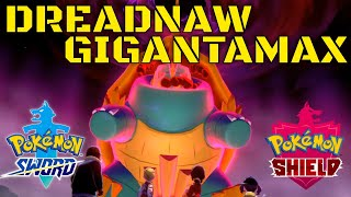 Drednaw  - (Pokémon) - Pokemon Sword And Shield Gigantamax Drednaw Location