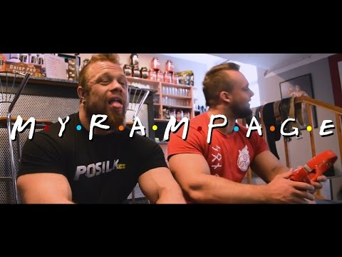MyRampage - Beran, Grznár, Krasinský, Kyptová (Přátelé parodie)