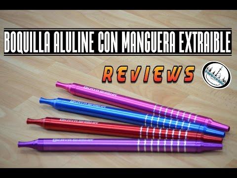 Review Boquilla Kaya aluline con manguera extraible #eltemplodelashisha