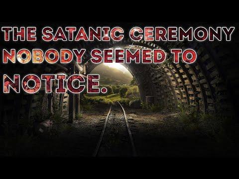 De satanische ceremonie die niemand leek op te merken CERN