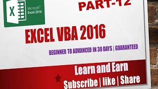 vba excel 2016 tutorial - TH-Clip