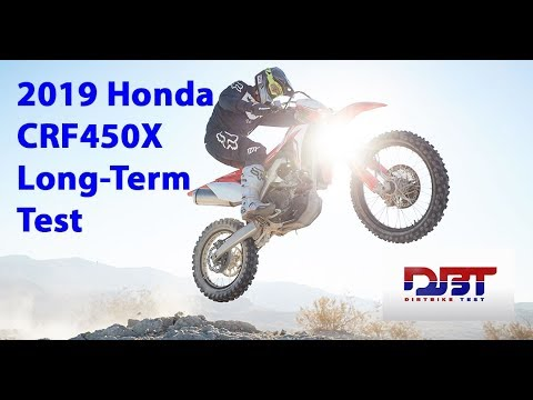 2019 Honda CRF Long Term Test and Modifications