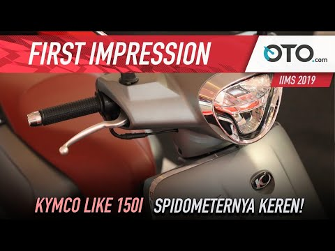 Kymco Like 150i | First Impression | Klasik Berfitur Canggih | OTO.com