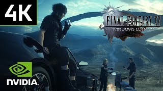 Final Fantasy 15 on PC with 4K resolution and 60FPS
