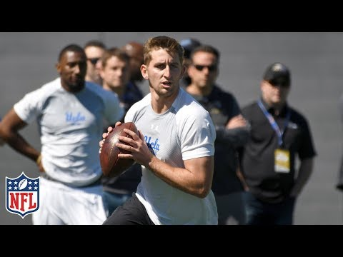Josh Rosen's Pro Day Highlights & Analysis   NFL