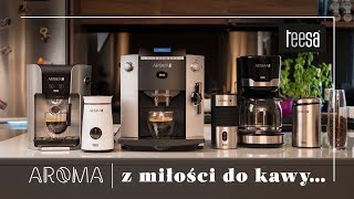 Ekspresy i akcesoria do kawy Teesa Aroma