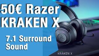 Lohnt sich das Kraken X USB von Razer für 50€/Unboxing/Review
