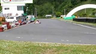 Yamaha KT100 Go Kart @ Ikoma Sports Land