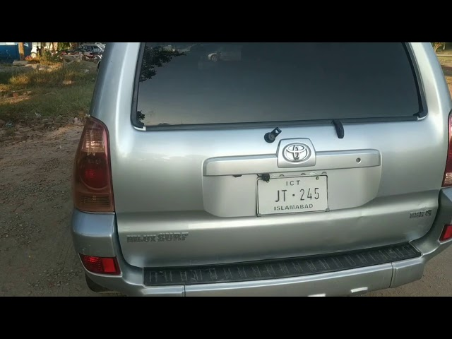 Toyota Surf SSR-G 2.7 2003 for Sale in Islamabad