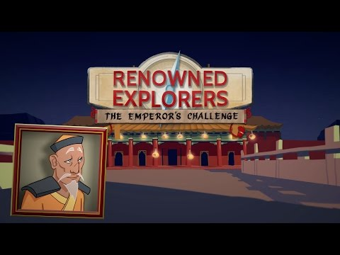 Renowned Explorers: The Emperor's Challenge, Trailer