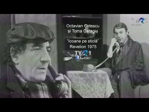 Moment umoristic magistral Octavian Cotescu și Toma Caragiu