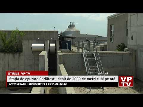 Stația de epurare Corlătești, debit de 2000 de metri cubi pe oră