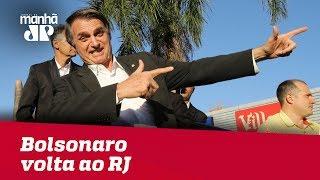Bolsonaro volta ao RJ após dias em Brasília