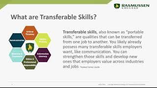 Transferable Skills in Today's Market