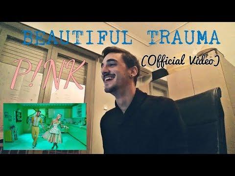 P!nk- Beautiful Trauma (Official Video) - Reaction