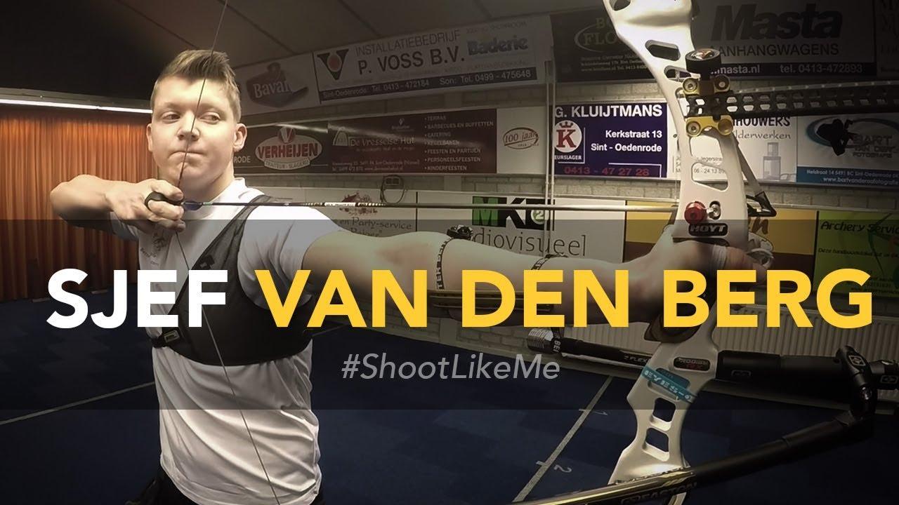 Sjef van den Berg: Stap voor stap schot routine