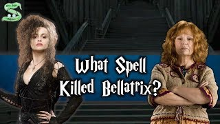 What Spell Killed Bellatrix? How Was She Defeated By Molly?
