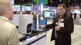 XN-9000 display in Sysmex booth at AACC 2014