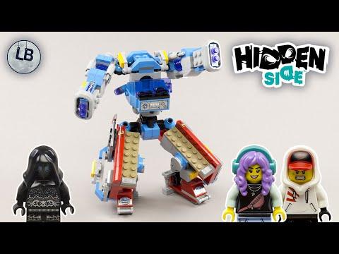 Vidéo LEGO Hidden Side 70436 : Le camion de pompiers Phantom 3000