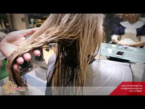 Maschera per capelli da forfora con oli essenziali