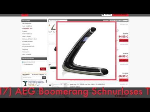 Schnäppchen / Deal des Tages 10.05.2017 - AEG Boomerang Schnurloses Telefon