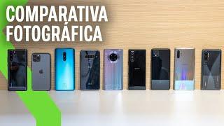 Comparativa FOTOGRÁFICA entre los MEJORES móviles de 2019: un PODIO con SORPRESA