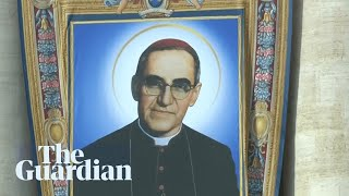 Pope canonises Salvadoran archbishop Óscar Romero