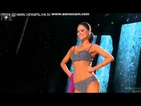 Miss Universe 2015 Pia Wurtzbach Swimsuit Pasarela