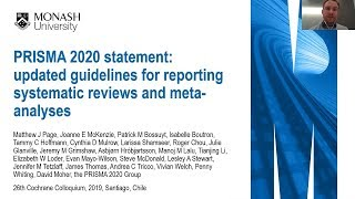 PRISMA 2020: updated guidelines for reporting systematic reviews and meta-analyses
