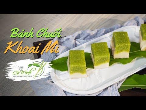 Bếp Cô Minh   Tập 123: Làm Bánh Chuối Khoai Mì ngon lạ miệng (Vietnamese Tapioca Banana Cake)