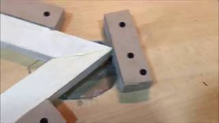 how to cut 60 degrees on a miter saw