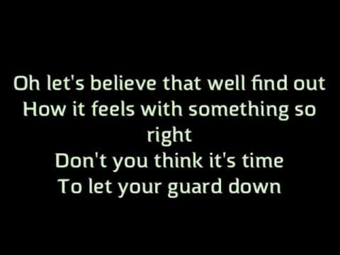 """Trust me"" backstreet boys lyrics karaoke in a world like this"