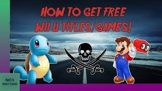 NOT WORKING] How to install FREE GAMES/DLC on your Wii U