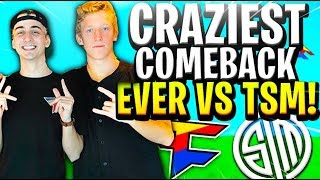 CRAZIEST COMEBACK EVER VS TSM TO WIN OUR 4TH 20,000$ KEEMSTAR TOURNEY!