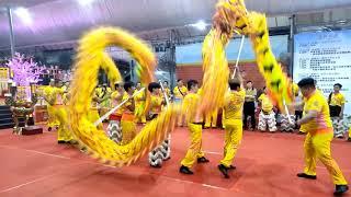 Singapore WLCSCCA Arrived And Dragon Dance Performance At Bao Xing Tan 29 Nov 2018