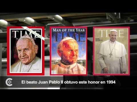 El papa Francisco, Persona del Año para la revista Time