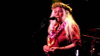 June Millington with introduction by John Hart LIVE @ Crossroads at Hawaiian Brian's 4 28 17