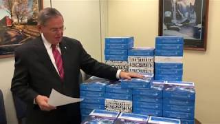 Menendez Reads Constituent Letter After ANWR Drilling Snuck into GOP Tax Bill