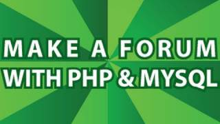PHP Message Board Pt 1