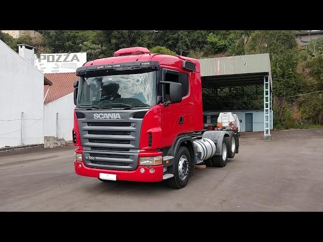 Vídeo do caminhão G380 6x2