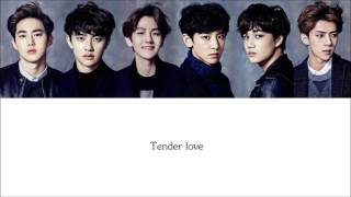 Lyrics EXO-K - TENDER LOVE [Hangul/Romanization/English] COLOR CODED