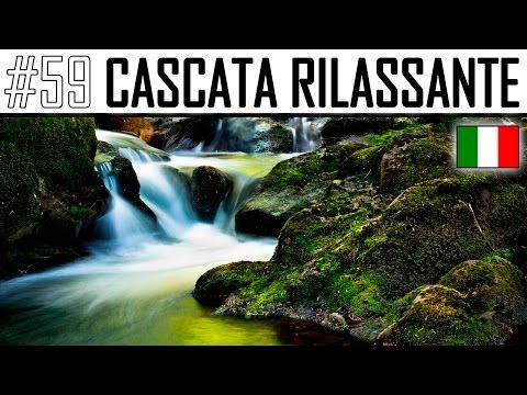 SUONO NATURALE DELLA CASCATA : IL RUMORE DELL'ACQUA DI UN RUSCELLO RILASSANTE ASMR