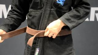How To Tie A Jiu Jitsu or Judo Belt - American Top Team Miramar