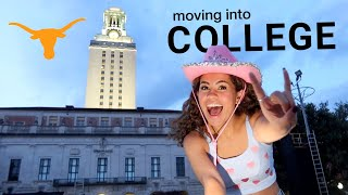 MOVING INTO COLLEGE!!! | The University of Texas at Austin