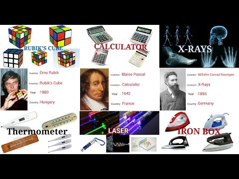 Top 30 inventors and their inventions