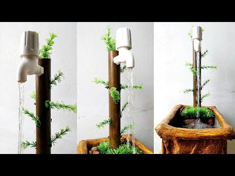 How to make lovely tap fountain very easy