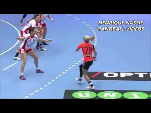 Best Of Estavana Polman اروع اهداف handball.fille