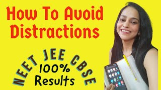 How to avoid Distractions while Studying   How to Stay Focused on Studies I Stop Getting Distracted