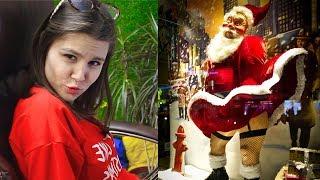 НЕ Лютые приколы! Брутальный Санта. Реакция JaneFox!